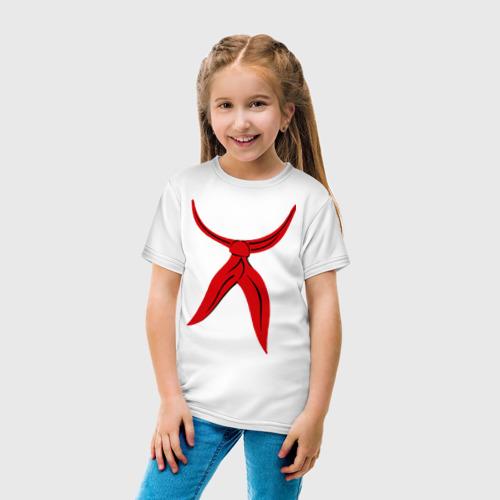Детская футболка хлопок Галстук Пионера Фото 01