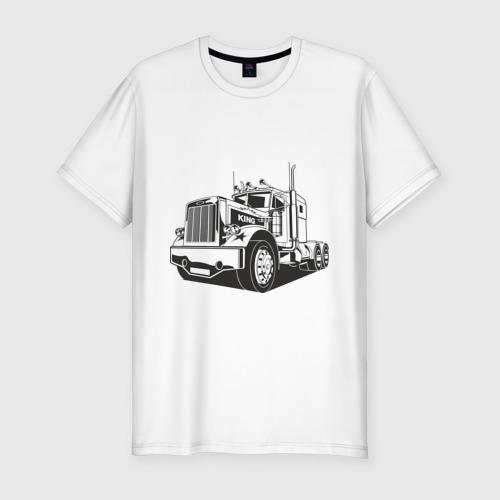 Мужская футболка премиум Truck Фото 01