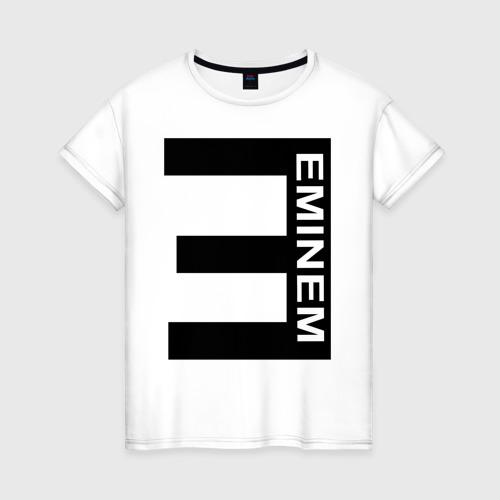 Женская футболка хлопок Eminem(2)