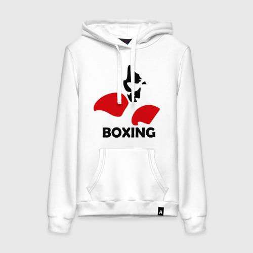Женская толстовка хлопок  Фото 01, Russia boxing