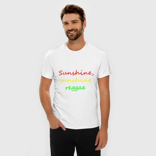 Мужская футболка премиум  Фото 03, Sunshine reggae