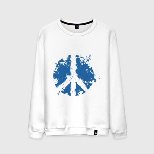 Мужской свитшот хлопок  Фото 01, Peace мир