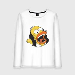 Гомер Симпсон вылезает