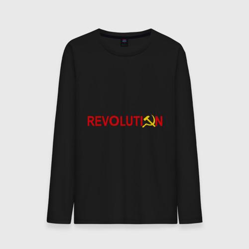 Мужской лонгслив хлопок Revolution (3) Фото 01