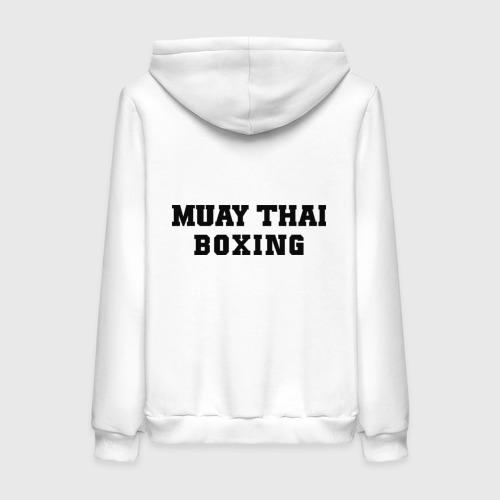 Женская толстовка хлопок  Фото 02, Muay Thai