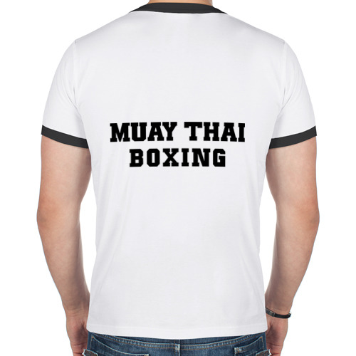 Мужская футболка рингер  Фото 02, Muay Thai
