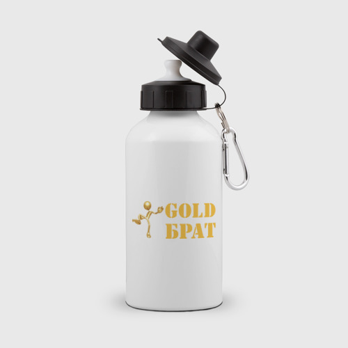 Бутылка спортивная Gold брат