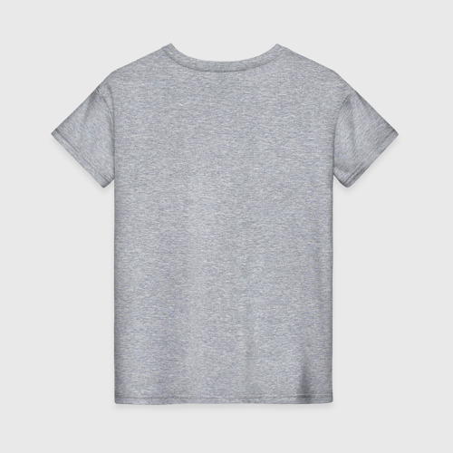 Женская футболка хлопок Кот Да Винчи Фото 01