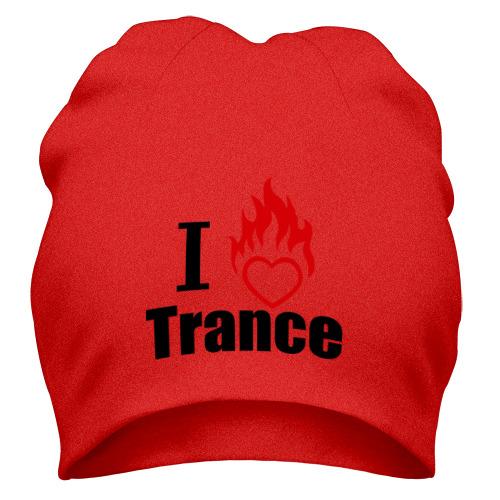 Шапка I love Trance (4)
