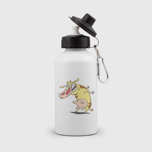 Бутылка спортивная Корова очень злая