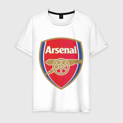 Мужская футболка хлопок FA Premier League. Arsenal FC.