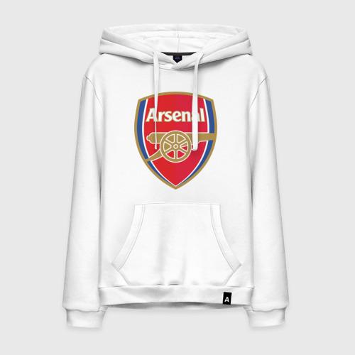 Мужская толстовка хлопок FA Premier League. Arsenal FC.