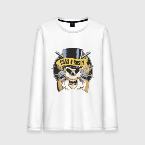 """Мужская футболка с длинным рукавом """"Guns n roses"""" - 1"""