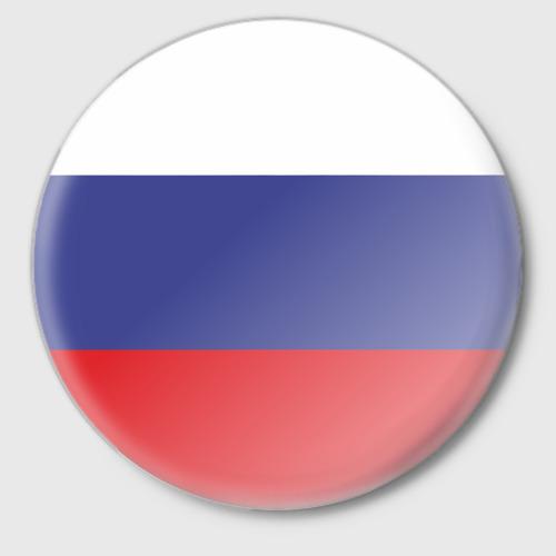 Значок Флаг - Россия Фото 01