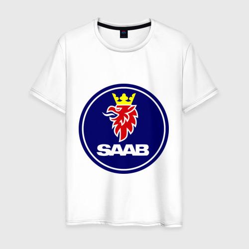Мужская футболка хлопок Saab