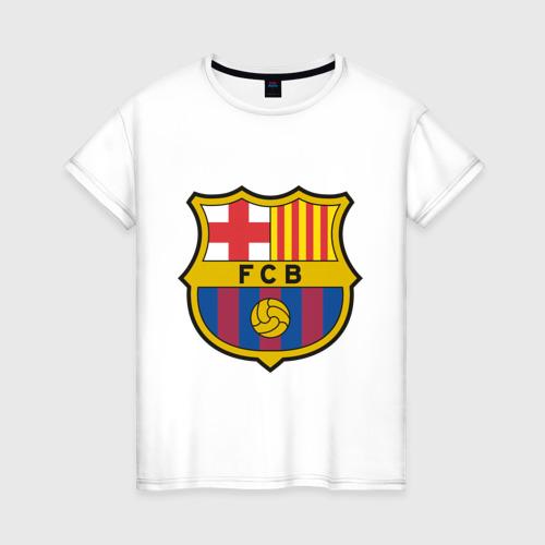 Женская футболка хлопок Spanish Primera. FC Barсelona