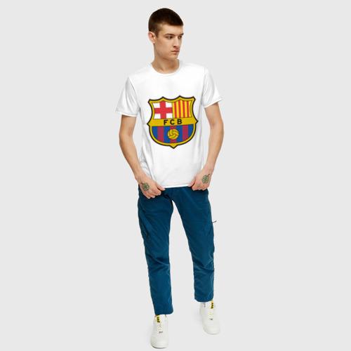 Мужская футболка хлопок Spanish Primera. FC Barсelona Фото 01