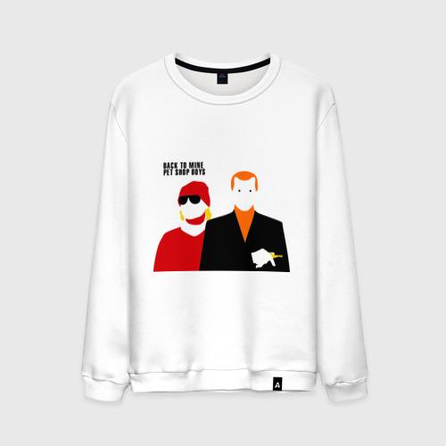 Мужской свитшот хлопок  Фото 01, Pet Shop Boys (1)