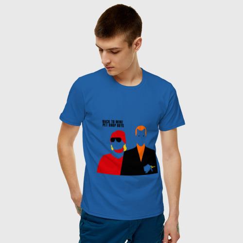 Мужская футболка хлопок Pet Shop Boys (1) Фото 01