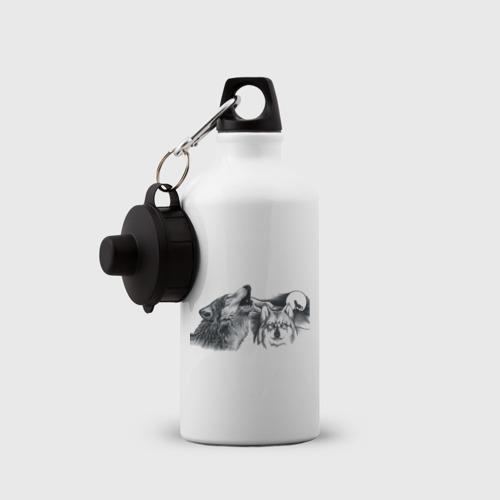 Бутылка спортивная  Фото 03, Волки