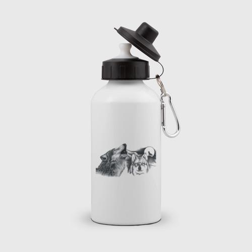 Бутылка спортивная  Фото 01, Волки