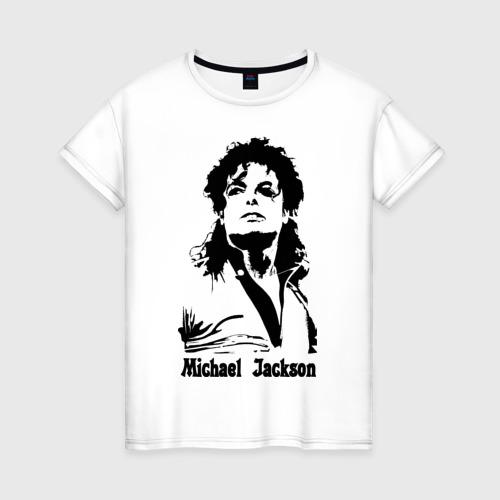 Женская футболка хлопок Michael Jackson Фото 01