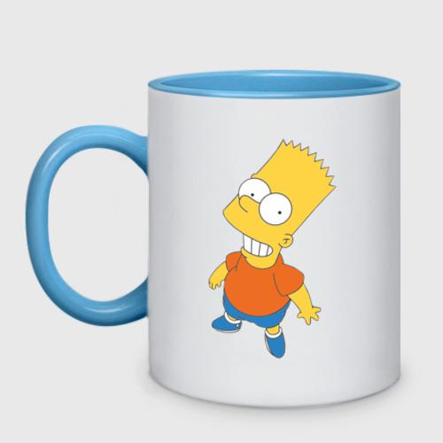 Кружка двухцветная  Фото 01, Bart