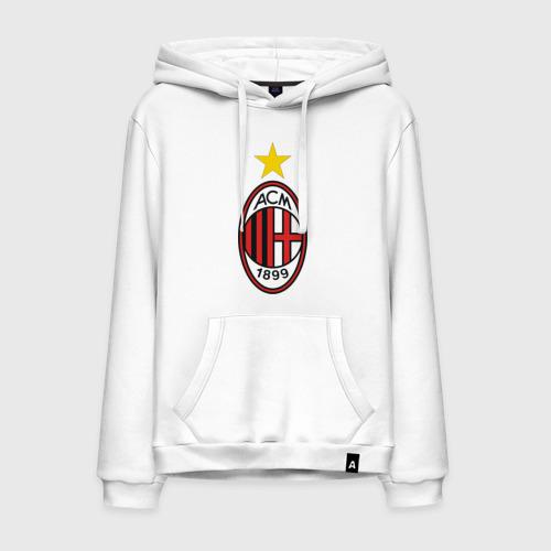 Мужская толстовка хлопок Italian Serie A. AC Milan