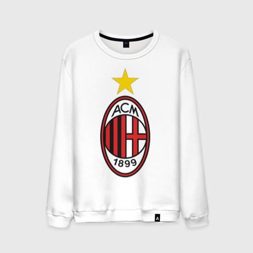 Мужской свитшот хлопок Italian Serie A. AC Milan