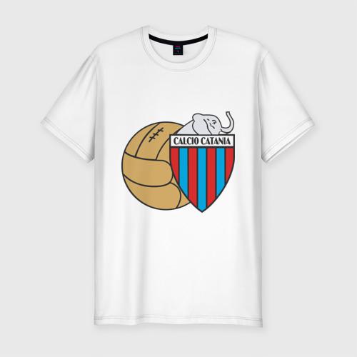 Мужская футболка премиум  Фото 01, Italian Serie A. Calcio Catania FC