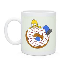 Гомер и пончик