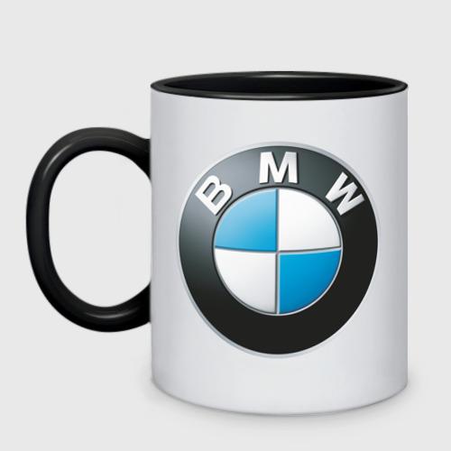 Кружка двухцветная BMW Фото 01