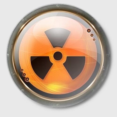 Значок Радиоактивная опасность