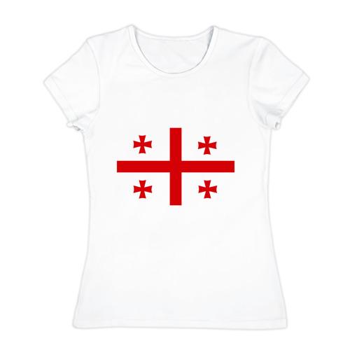 Женская футболка хлопок Грузия