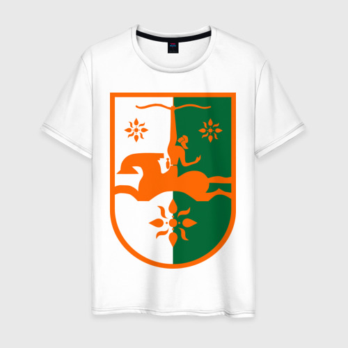 Мужская футболка хлопок Абхазия