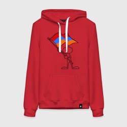 Армения (человек с флагом)