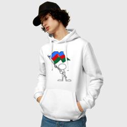 Waving flag - Azerbaijan