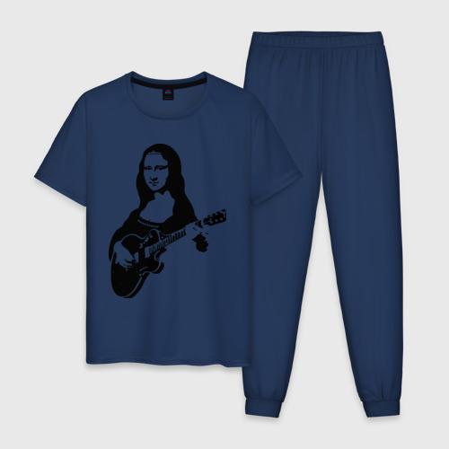 Мона лиза с гитарой