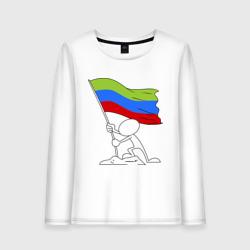 Дагестан (человек с флагом)