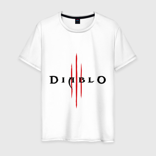Мужская футболка хлопок Diablo (2)
