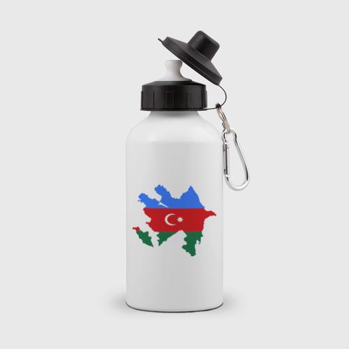 Бутылка спортивная  Фото 01, Azerbaijan map