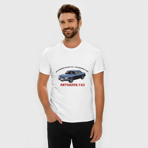 Мужская футболка премиум  Фото 03, Автоклуб Газ