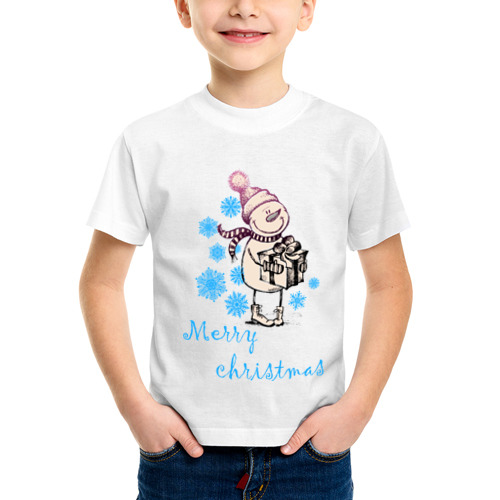 Детская футболка синтетическая NewYear (2)