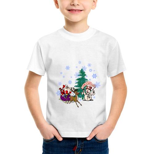 Детская футболка синтетическая NewYear