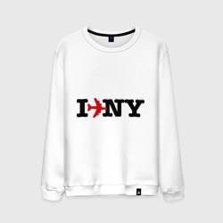 I flew to New York
