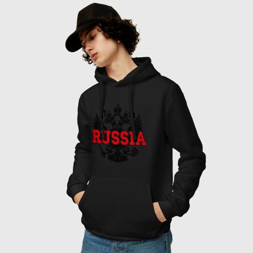 Мужская толстовка хлопок  Фото 03, Герб России (2)