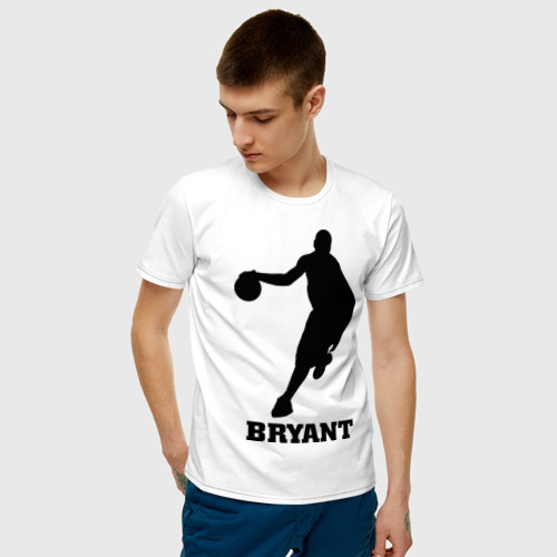 Мужская футболка хлопок Basketball Star - Kobe Bryant Фото 01