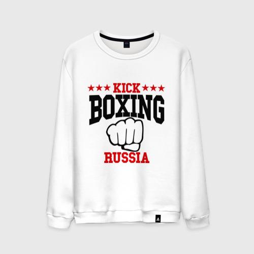 Мужской свитшот хлопок  Фото 01, Kickboxing Russia