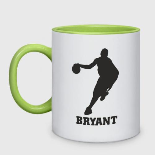 Кружка двухцветная  Фото 01, Bryant - баскетболист