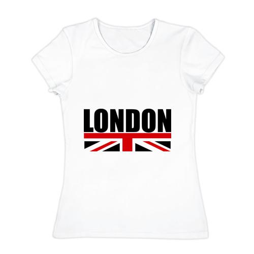 Женская футболка хлопок London